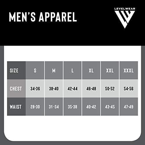 Levelwear LEY9R NHL Mens Summit Wordmark Quarter Zip Mid-Layer