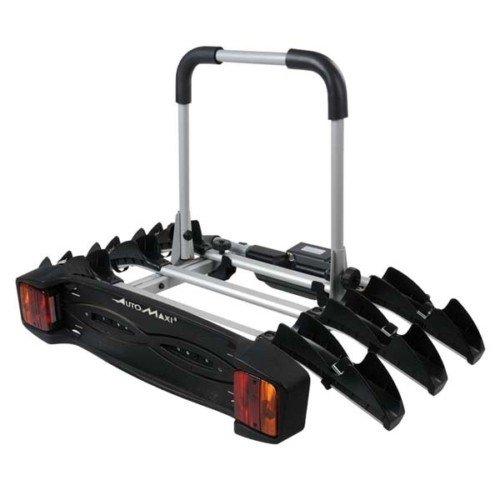 Montblanc Allroad 3 – Portabicicletas con enganche para 3 bicicletas, plegable