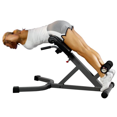 XMark 45 Degree Ab Back Hyperextension Roman Chair XM-4428