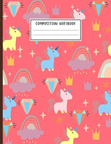 Composition Notebook: The cute doodles on every page are designed to inspire creativity.