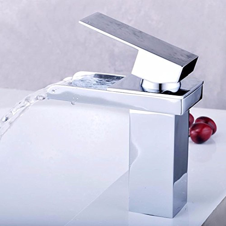 Lvsede Bad Wasserhahn Design Küchenarmatur Niederdruck Vintage Chrom Edelstahl Wasserfall Reinem Kupfer I145