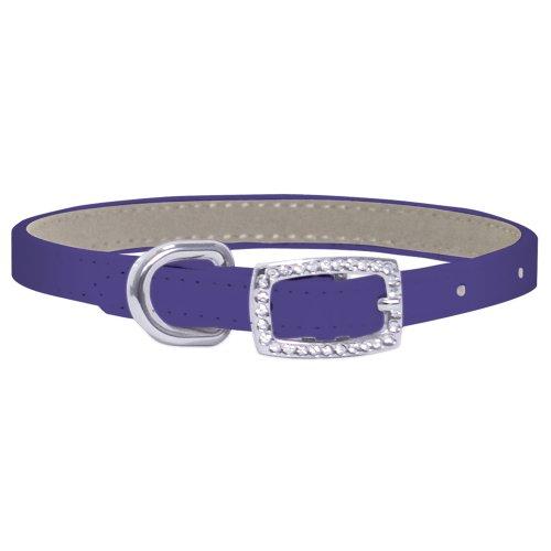FouFou Dog Yummy Collar, Purple, 14-Inch