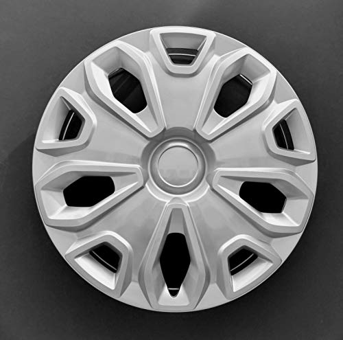 MARROW One Wheel Cover Hubcap Fits 2014-2019 Ford Transit 150,250 and 350; 16 Inch; 5 Y Spoke; Silver Color; Plastic; Standard Leg