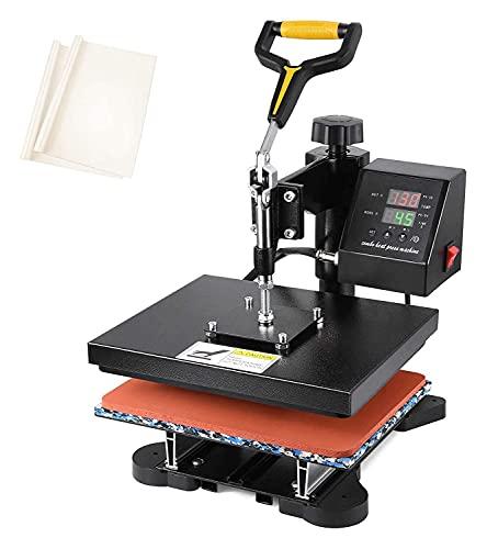 GGCG Prensa de Calor 12'x 10' Máquina de sublimación Digital de Transferencia Digital de Calor de 360 Grados para Camisetas