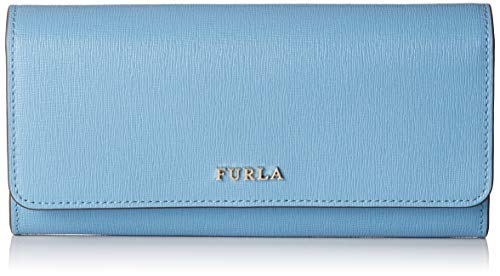 FURLA Babylon Xl Bifold - Portafogli Donna, Blu (Veronica), 1x10x19.5 cm (B x H T)