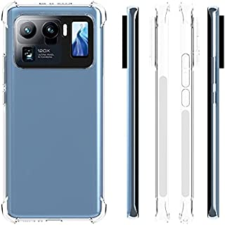Muzz Mi 11 Ultra Case Cover with Camera Protection,Protective Shock Absorption Bumper soft Transparent Case For Mi 11 Ultra