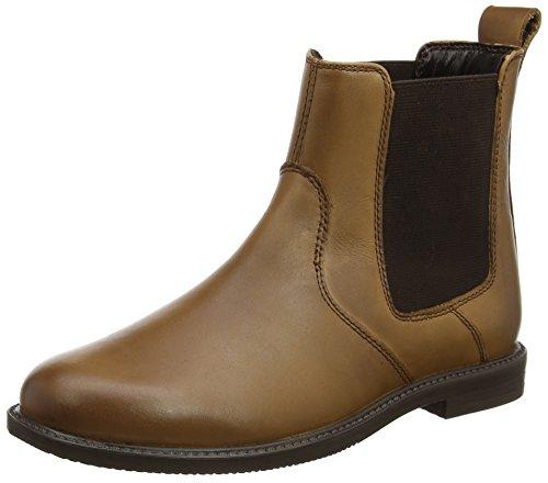 Hush Puppies Damen Fleur Chelsea Boots, Braun (Brown), 36 EU