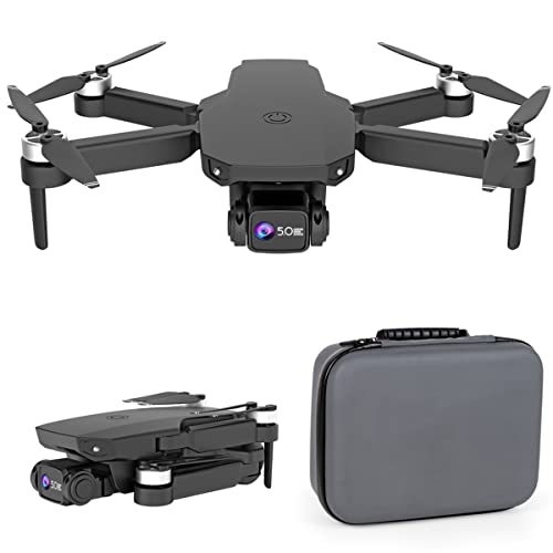 JeeKoudy GPS Drone 8K Dual HD Camera Professional 5G RC Quadcopter Aerial Photography Brushless Motor Foldable Quadcopter RC Distance1000M, Long Control Range, Auto Return
