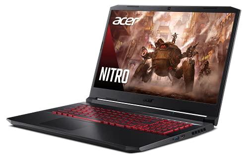 Acer Nitro 5 AN517-41-R7FP Gaming Laptop, AMD Ryzen 5 5600H Hexa-Core Processor | NVIDIA GeForce RTX 3060 Laptop GPU | 17.3