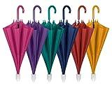 Ombrello RACCOGLI GOCCE Donna Uomo Grande PERLETTI Automatico Ombrello Raccogligoccia con Custodia in Plastica Scorrevole Salva Goccia Antigoccia
