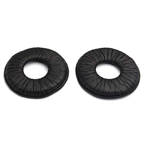 DREAMDEER Almohadillas de Repuesto para Almohadillas de Oreja de 70 mm en General - Oscuro