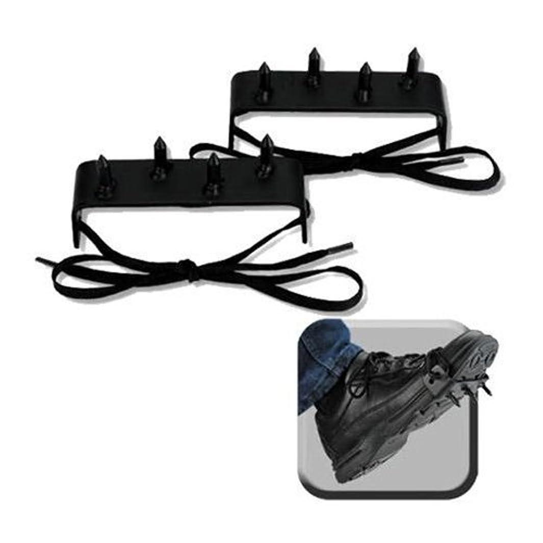 2 Pc. Ninja Gear Black Steel Foot Spikes Claw ljzqpvgrq26