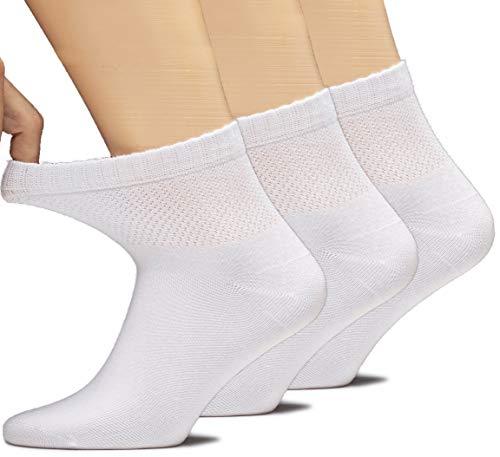 Hugh Ugoli W-Bmb-Dia-Ankle-Thk-White