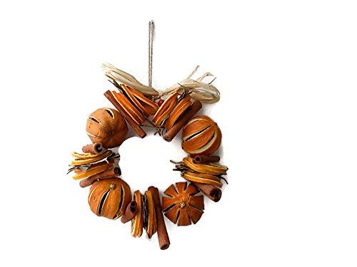Arance frutta secca & spezie (7 Ghirlanda 17,78 cm diametro