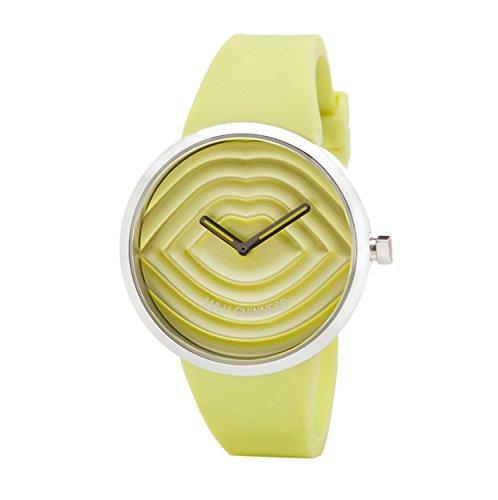 Lulu Guinness Lulu Guinness Lime, gesteppt, Armbanduhr Women's Armbanduhr Analog Silikon grün, 0.95.0609