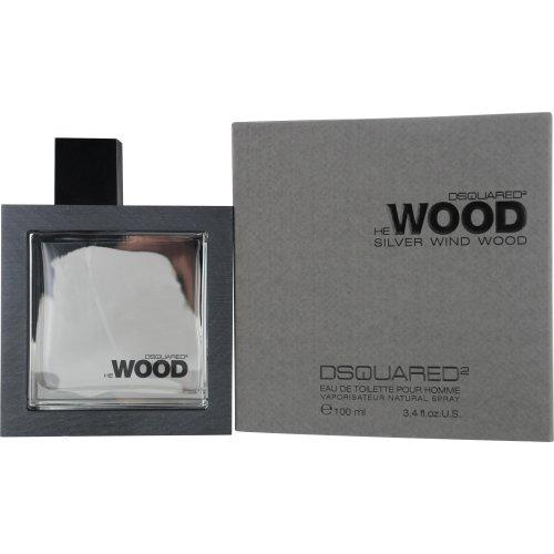 Dsquared He Silver Wind Wood Eau de Toilette 100 ml, 1er Pack (1 x 100 ml)
