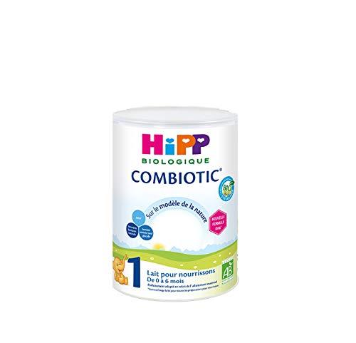 Hipp Biologique Lait 1 COMBIOTIC pour Nourrissons de 0 à 6 mois 800 g - Lot de 3