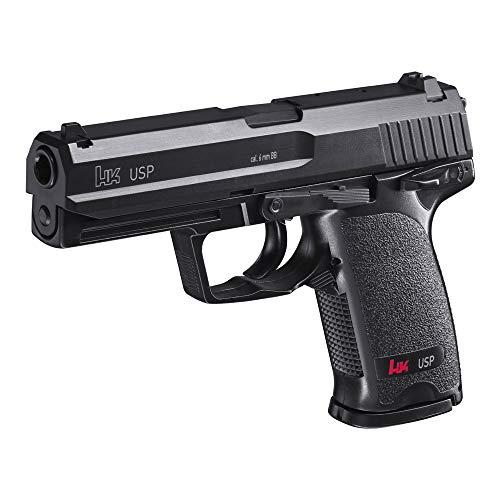 Eva Shop® Premium Softair Vollmetall Pistolen Gewehre Colt Walther Heckler & Koch Beretta BGS Elite Force Combat Zone UVM. Airsoft Kugeln Munition Qualität aus Deutschland (Heckler & Koch USP)