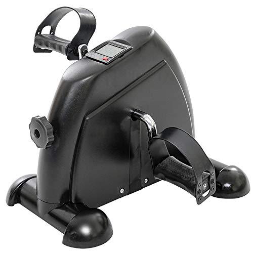 LQTBJ Arm- Und Beinpedal-TrainingsgeräT Mit LCD-Display Mini-Heimtrainer Fitness Radfahren Widerstand Einstellbar Kompakter Heimtrainer - Hand- Und FußPedale Mit Verstellbarem Pedalriemen