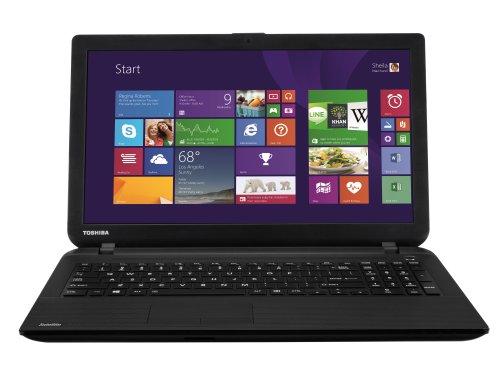Toshiba Satellite C50-B-12L 39,6 cm (15,6 Zoll) Laptop (Intel Pentium N3530, 2,1GHz, 4GB RAM, 500GB HDD, DVD, Win 8.1) schwarz
