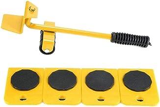 Meubilair Lifter Mover Tool Set Meubels Slider Heavy Duty Meubelwals Voor Appliance Easy En Safe Moving 5pcs Geel