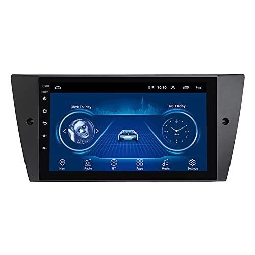 Nav HD Auto Receptor de radio estéreo para automóvil de 9 pulgadas para automóvil - Aplicable para BMW E90/E91/E92/E93 2005-2015, unidad principal de navegación GPS Autoradio Android 10 Bluetooth