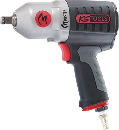 KS TOOLS 515.1210 Monster Avvitatore ad Impulsi Pneumatico ad Alte Prestazioni 1.690 NM