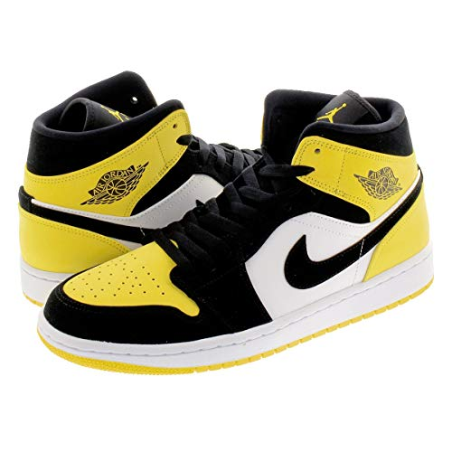 エアジョーダン 1 ミッド AIR JORDAN 1 MID SE YELLOW TOE black/black-tour yellow-white 852542-071 スニーカー AJ1 イエロート