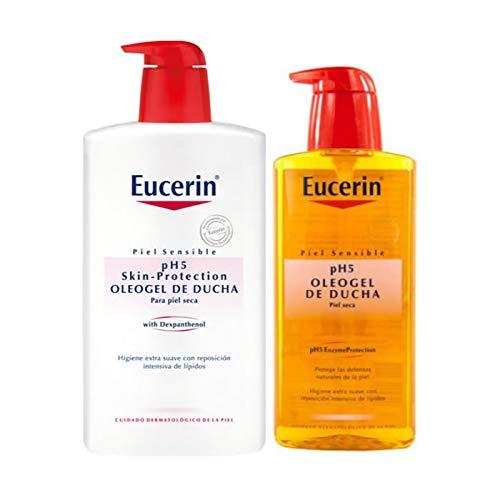 Eucerin, Oleogel de Ducha, 1000 ml + 400 ml regalo