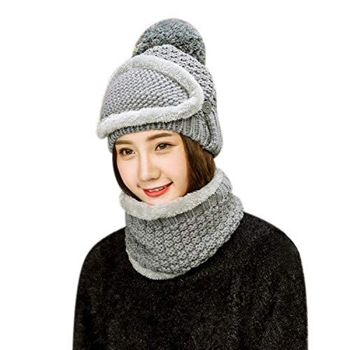 帽子 レディース ニット帽 女の子 目出し帽 ハット 冬 マスク ニットキャップ ふわふわ もこもこ 保温 防寒...