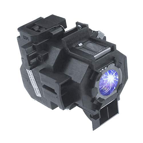 Huaute V13H010L42 / ELPLP42 Lámpara de Repuesto para proyector Epson EB-400WE EMP-400WE 410W 822H 83H EX90 EMP-280 83+ 83C 410W 400W 822P 822+ Inicio Cine PowerLite