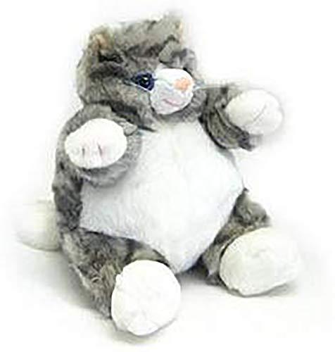Unipak Gray Tabby Cat Baby Plumpee Plush Toy 7' H