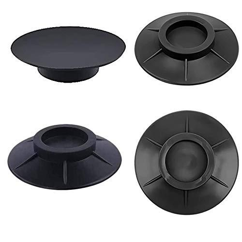 4 Pezzi Cuscinetto per Piedi Lavatrice Ammortizzatore Vibrazione per Lavatrice Tappetino Antivibrante per Lavatrice Piedini Antivibranti per Asciugatrice Piedini antivibrazione lavatrice universali