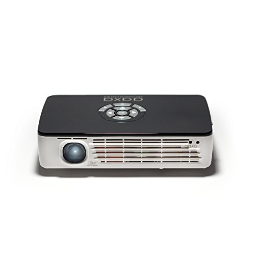 AAXA KP-700-01 P700 WXGA LED Pico Projector, 650 Lumens, 70+ Min Battery, Native 1280x800 HD Resolution, 15,000 Hour LED, HDMI, Media Player, DLP Photo #4