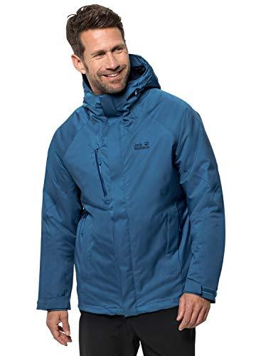Jack Wolfskin Herren Troposphere Jacket M Wetterschutzjacke, indigo blue, XL