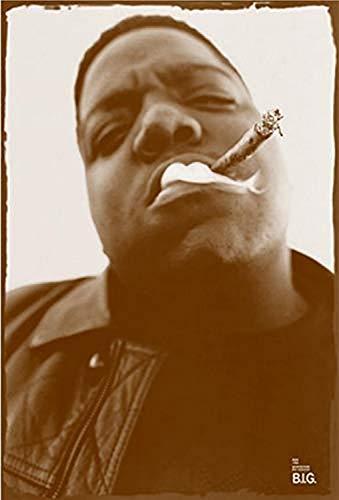 POSTER Notorious B.I.G. Smoking Blunt 36x24 Music Art Print Poster