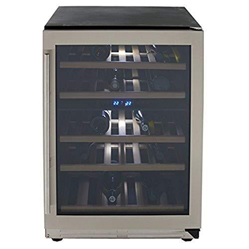 avanti wine fridges Avanti WCF43S3SD 43 Bottle Dual Zone Wine Chiller With Seamless Door, Steel