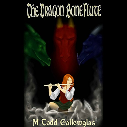 The Dragon Bone Flute audiobook cover art