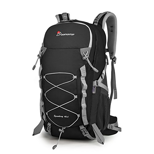 MOUNTAINTOP Erwachsene 40L Rucksäcke Herren Damen Backpack Wanderrucksack Trekkingrucksack Outdoorrucksack für Klettern Camping