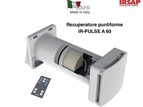 IRSAP RECUPERATORE DI CALORE PUNTIFORME IR-PULSE A 60