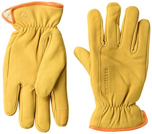 Timberland Herren Nubuck Leather Glove Handschuhe, weizenfarben, Medium