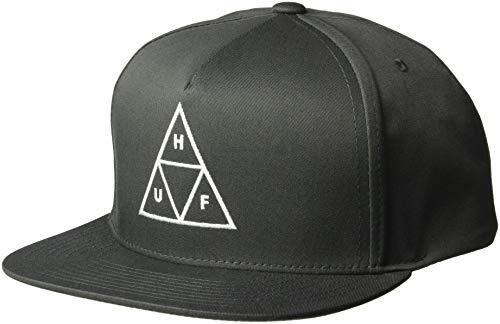 HUF Herren Essentials TT Snapback HAT Mütze, anthrazit, Einheitsgröße
