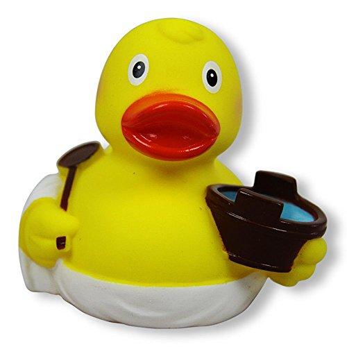 Duckshop I Badeente I Quietscheente I Sauna I L: 8,5
