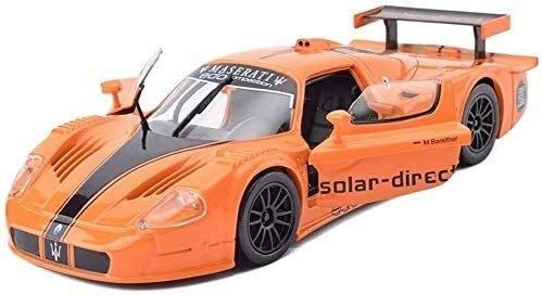 hongshen Fundición a presión de Escala 1:24 Maserati MC12 Coche de Deportes del Modelo de simulación de aleación de niños Juguetes Decoración Adornos 20x8x5cm joyería