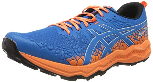 Asics Fujitrabuco Lyte, Running Shoe Mens, Directoire Blue/Shocking Orange, 42.5 EU