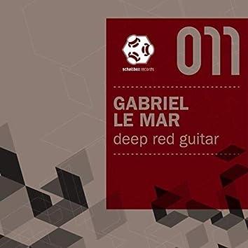 Deep Red Guitar