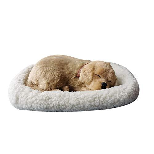 Peluche realista para dormir con diseño de gato peludo, con estera creativa, decoración de animales creativos, fotografía, apoyo realista para dormir gato