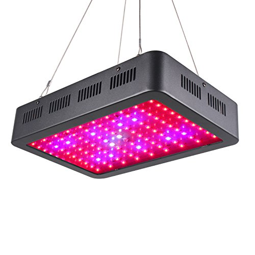 TOPLANET Led Cultivo 1000w Led para Plantas Lampara UV IR LED Full Spectrum para Interior Invernadero Hidropónico Grow Box Vegetal Germinación Floración