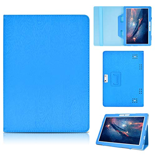KATUMO Universal Tablet Case for Android 10 inch - Flip Case for MatrixPad Tab 10, Lenovo Tab 10, Samsung Tab 10 Book Cover