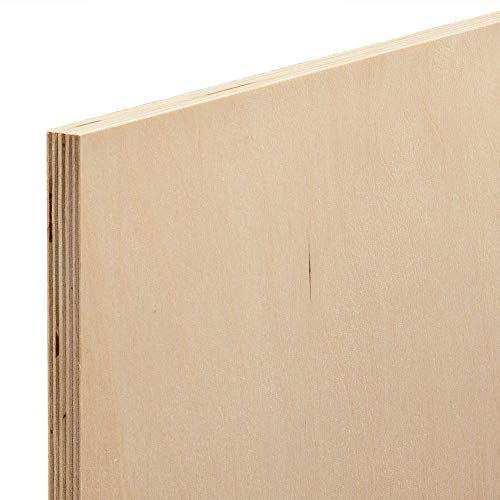 "12mm 1/2"" x 12"" x 12"" Baltic Birch Plywood"
